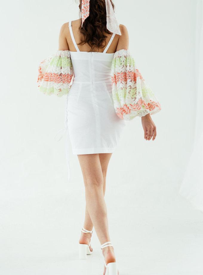 Сукня на кулісці без рукавів SE_SE19_Drs_Mn_Wd_Slv_W, фото 1 - в интернет магазине KAPSULA