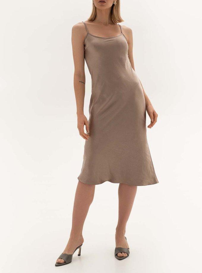 Платье с декором на спине WNDR_ fw2021_sdrcap_15, фото 1 - в интеренет магазине KAPSULA