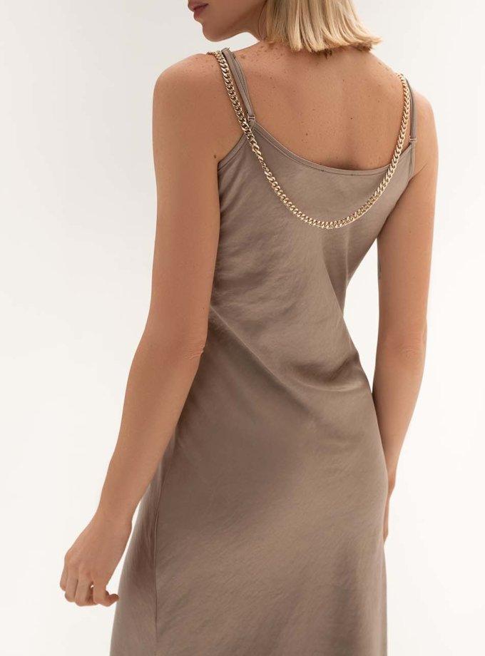 Платье c бретелями-цепями WNDR_fw2021_sdccap_15, фото 1 - в интеренет магазине KAPSULA