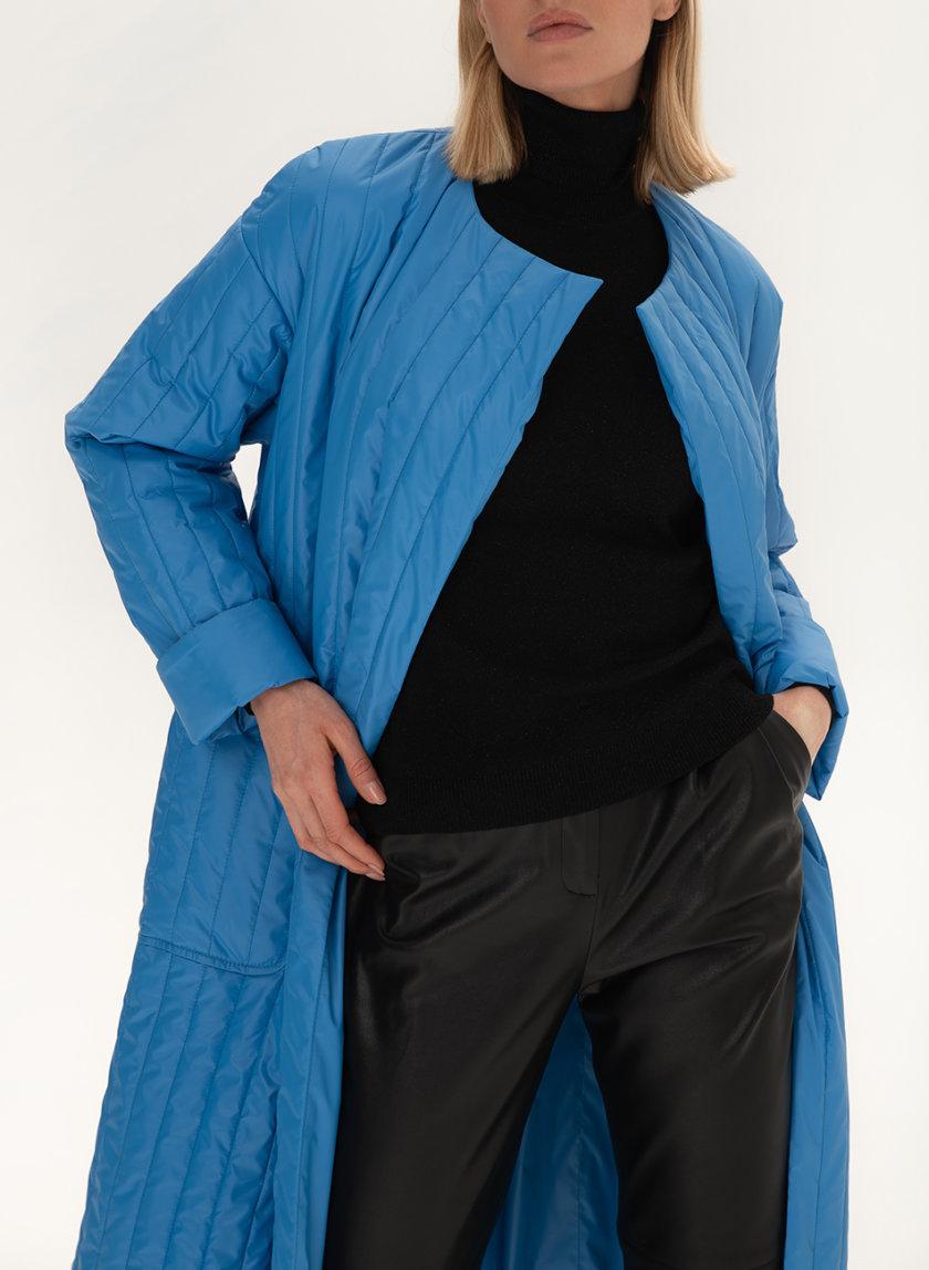 Стеганое пальто с поясом WNDR_sp_21_pspbl_03, фото 1 - в интернет магазине KAPSULA