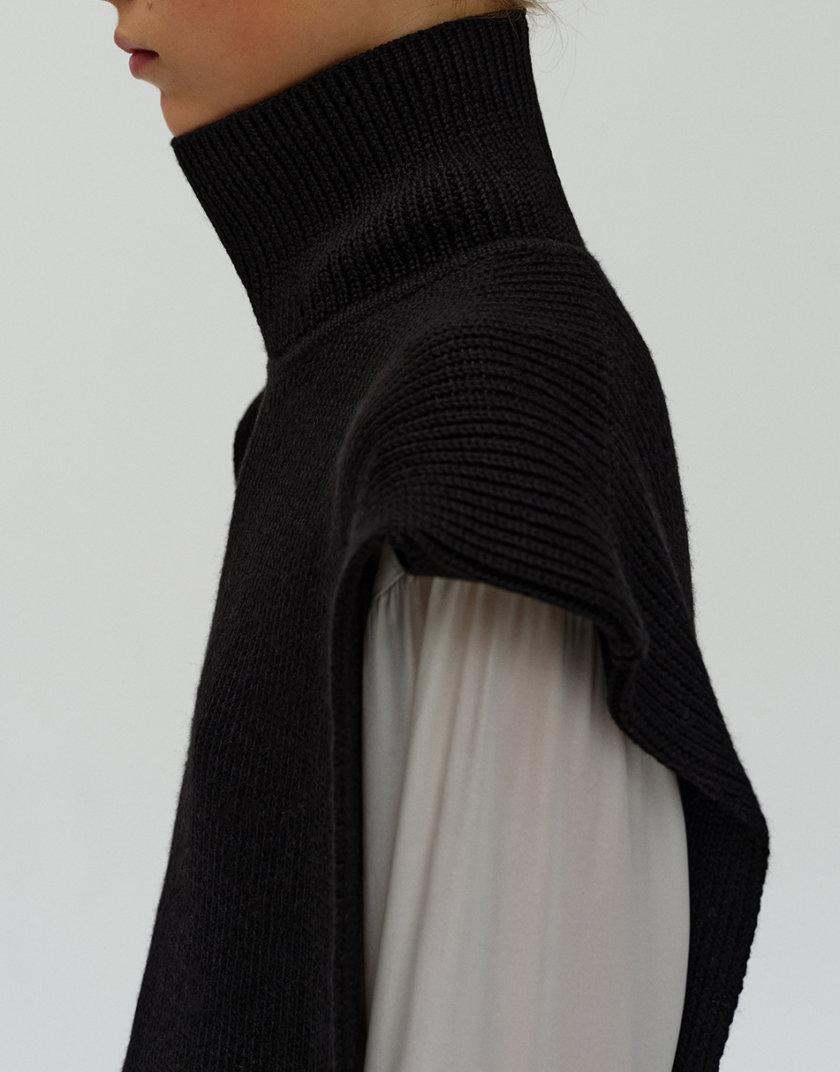 Жилет с открытой спиной из шерсти FORMA_FR-FW21-04, фото 1 - в интеренет магазине KAPSULA