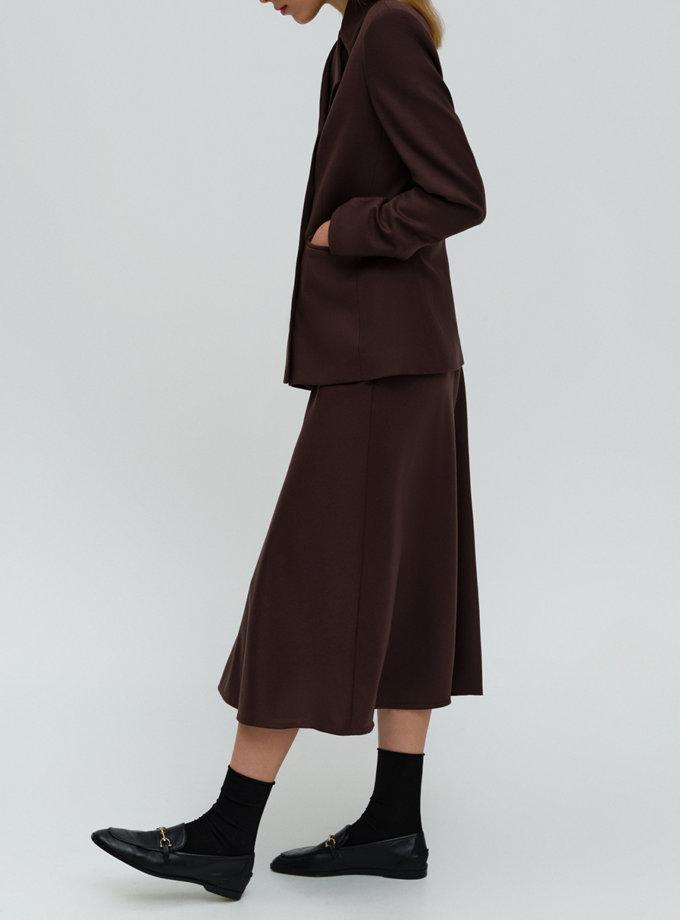 Жакет из шерсти с асимметричным воротом FORMA_FR-FW21-08, фото 1 - в интернет магазине KAPSULA