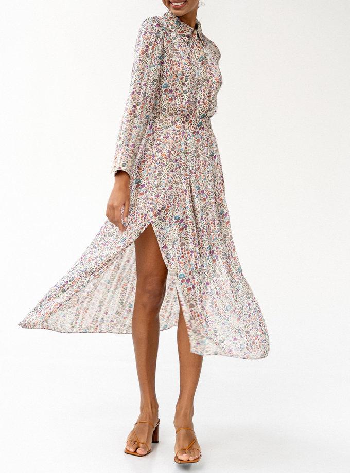 Шифоновое платье Monterey MC_MY0122, фото 1 - в интеренет магазине KAPSULA