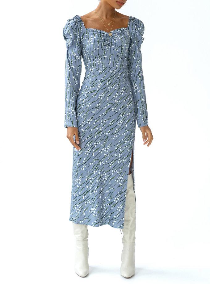 Платье с вискозы Rebecca MC_MY3421-1, фото 1 - в интернет магазине KAPSULA