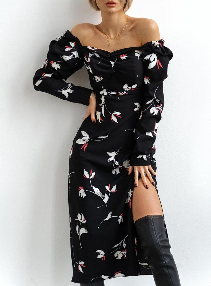 Платье с вискозы Rebecca MC_MY3421-2, фото 1 - в интеренет магазине KAPSULA