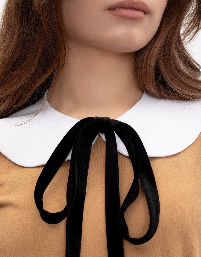 Овальный воротник из хлопка NT_NTCK12SAOV, фото 1 - в интернет магазине KAPSULA