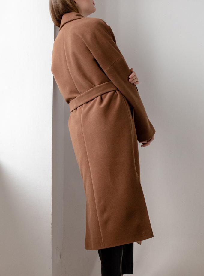 Пальто-халат с поясом MRZZ_mz_101120, фото 1 - в интернет магазине KAPSULA