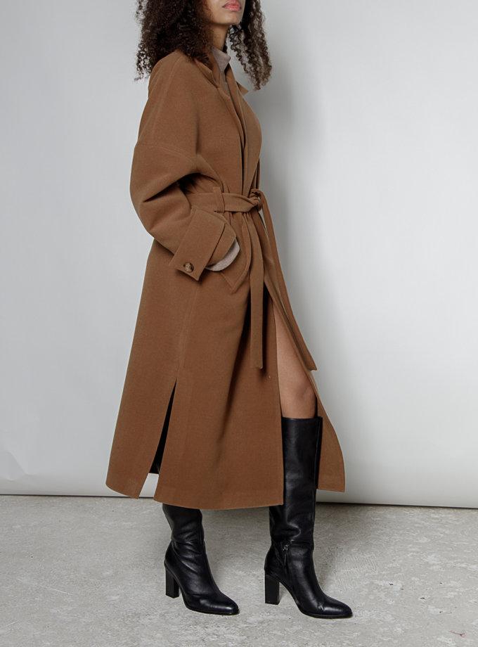 Пальто-халат с поясом MRZZ_mz_101120, фото 1 - в интеренет магазине KAPSULA