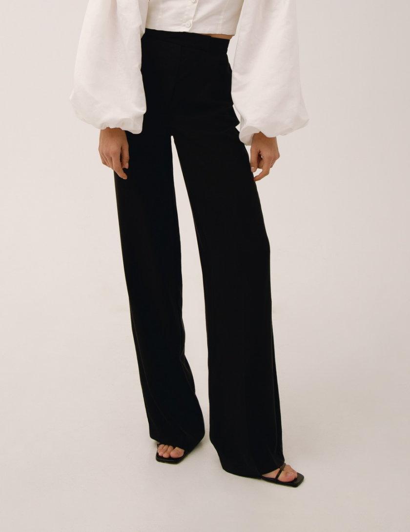 Прямые брюки на высокой посадке LAB_00009, фото 1 - в интернет магазине KAPSULA