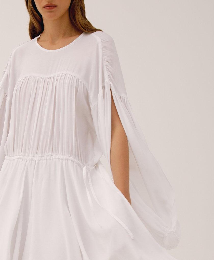 Хлопковое платье на кулиске LAB_00013, фото 1 - в интернет магазине KAPSULA