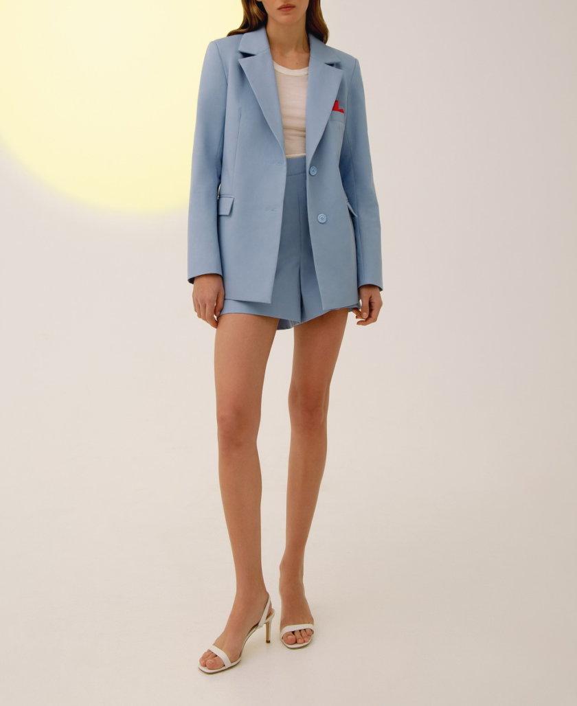 Костюм с шортами из хлопка LAB_00021, фото 1 - в интернет магазине KAPSULA