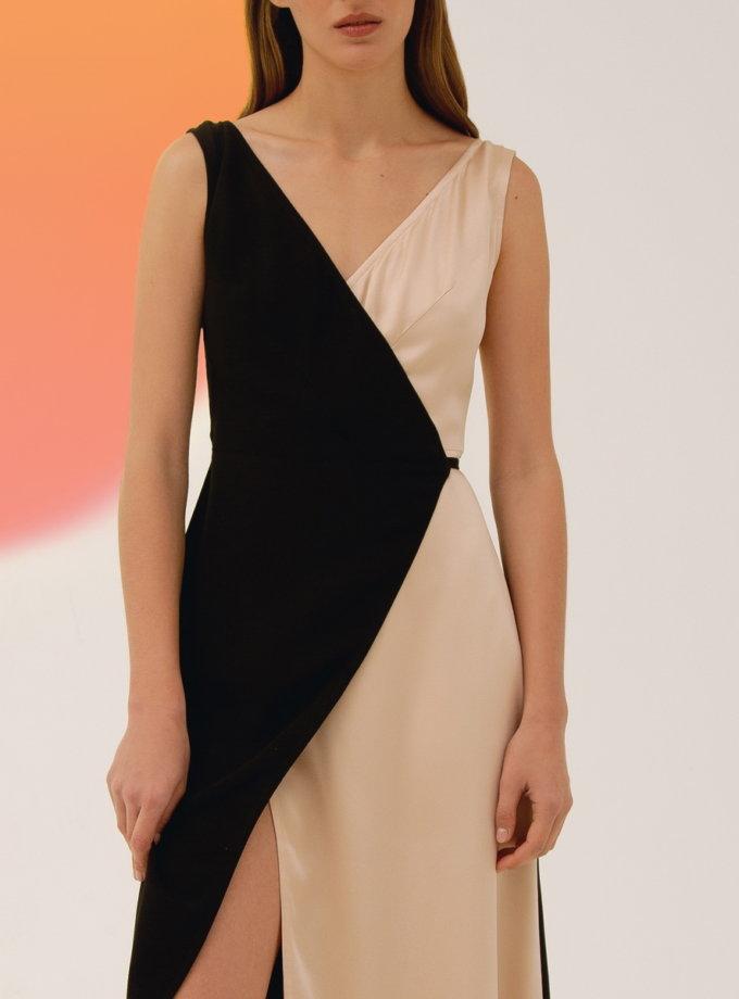 Платье макси на запах LAB_00023, фото 1 - в интернет магазине KAPSULA