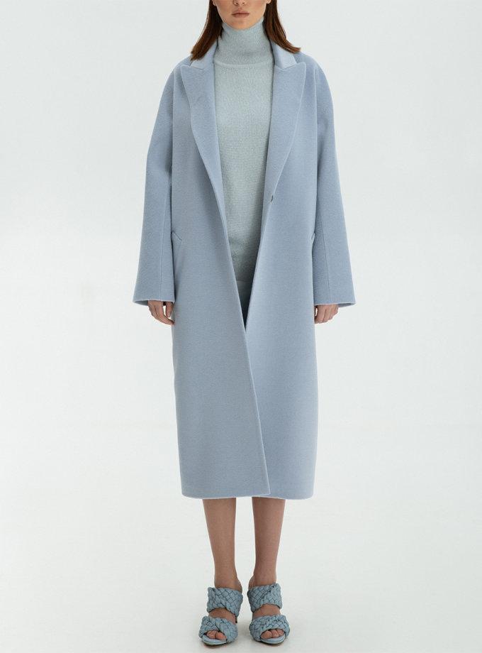Пальто из кашемира с поясом WNDR_ Fw2021_cshbl_11, фото 1 - в интернет магазине KAPSULA
