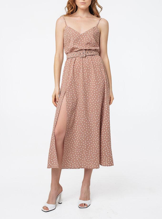 Платье с разрезом и открытой спиной MGN_1716ND, фото 1 - в интернет магазине KAPSULA
