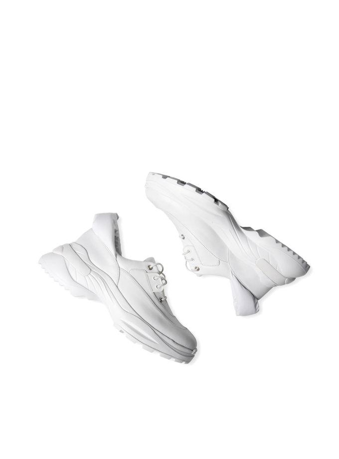 Кроссовки из кожи CLS_CSS21WS, фото 1 - в интернет магазине KAPSULA