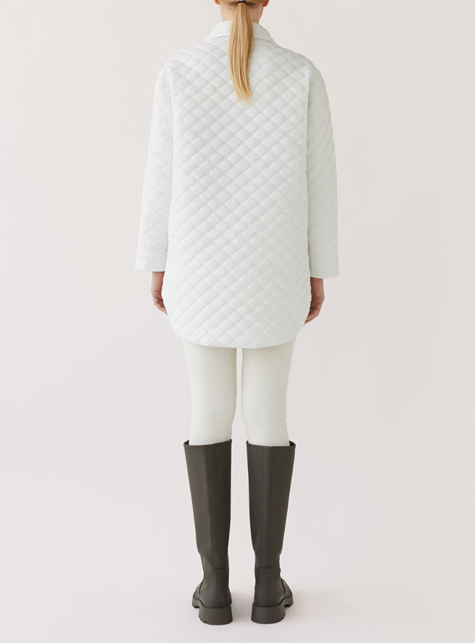 Стеганая куртка-рубашка MRCH_Ekl06W, фото 1 - в интернет магазине KAPSULA