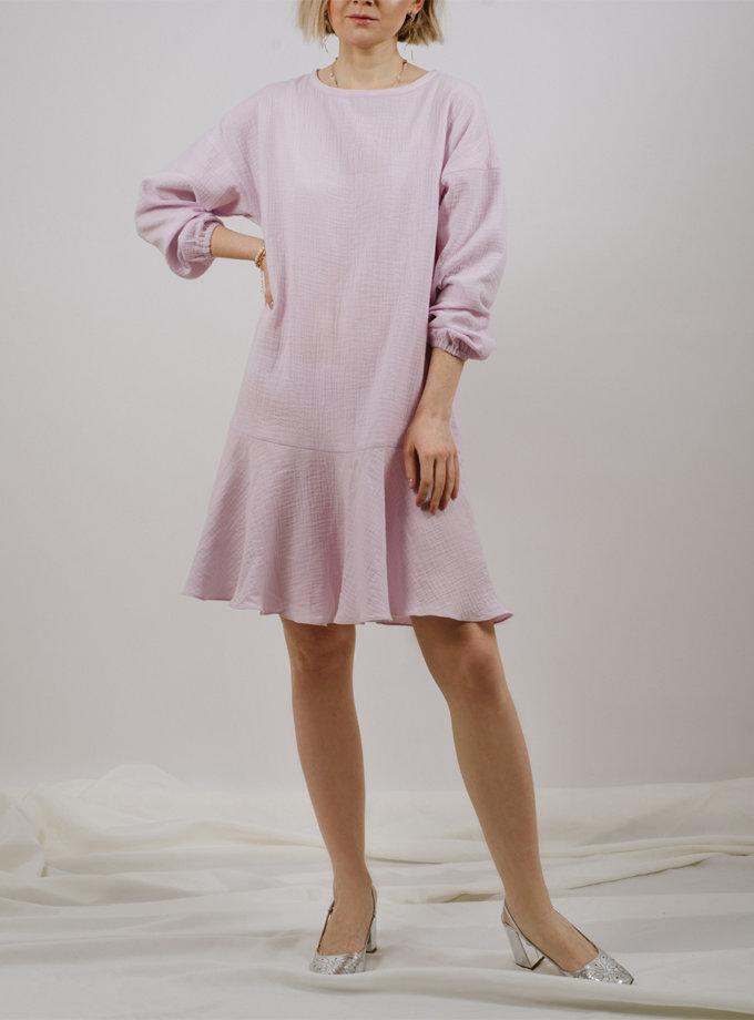 Платье мини с воланом MNTK_MTS2127, фото 1 - в интернет магазине KAPSULA