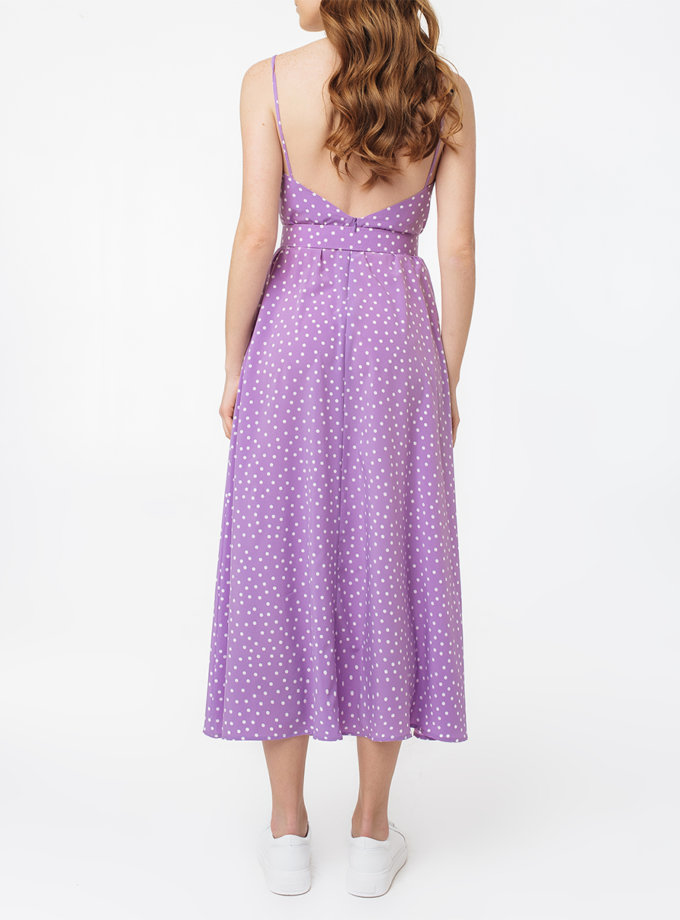 Платье с разрезом и открытой спиной MGN_1716PL, фото 1 - в интернет магазине KAPSULA