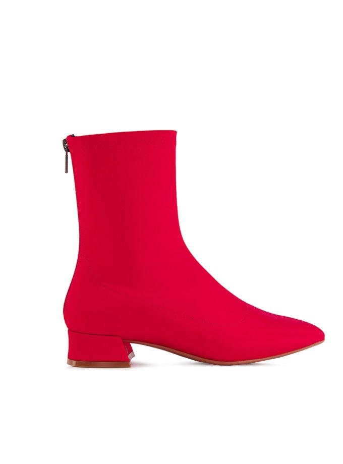 Ботинки на маленьком каблуке Vivienne MRSL_393741, фото 1 - в интернет магазине KAPSULA