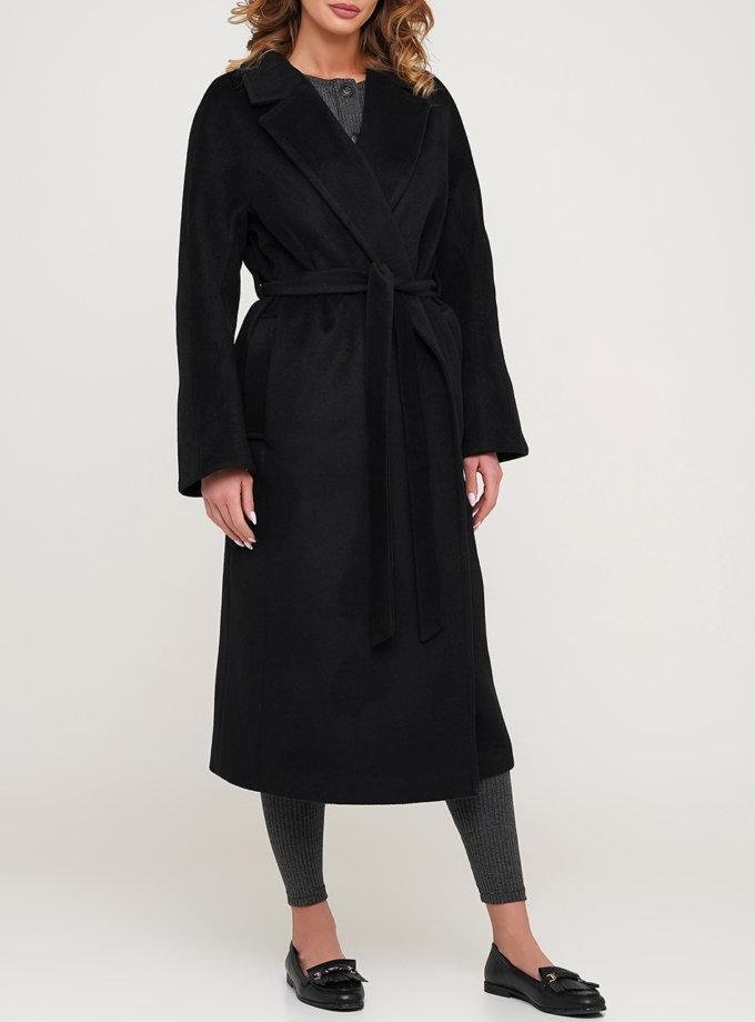 Пальто свободного кроя из шерсти AY_3138, фото 1 - в интернет магазине KAPSULA
