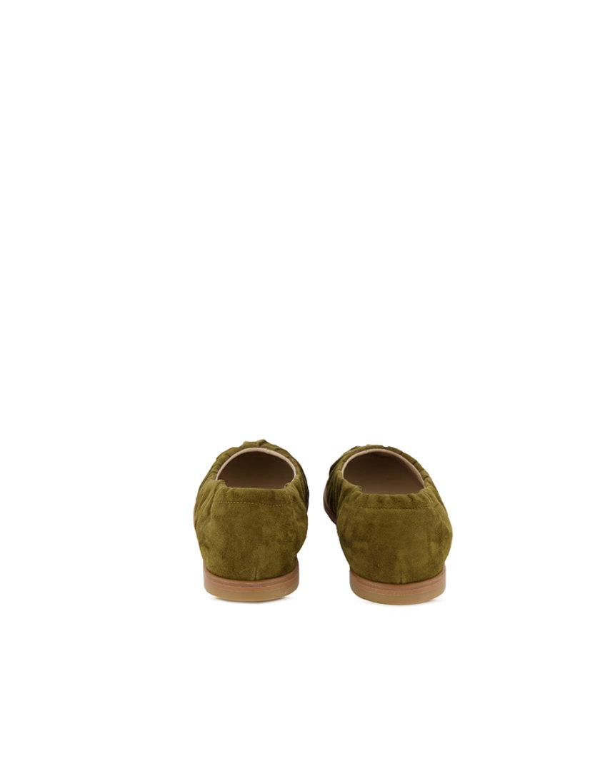 Замшевые балетки Tilda MRSL_644553, фото 1 - в интернет магазине KAPSULA