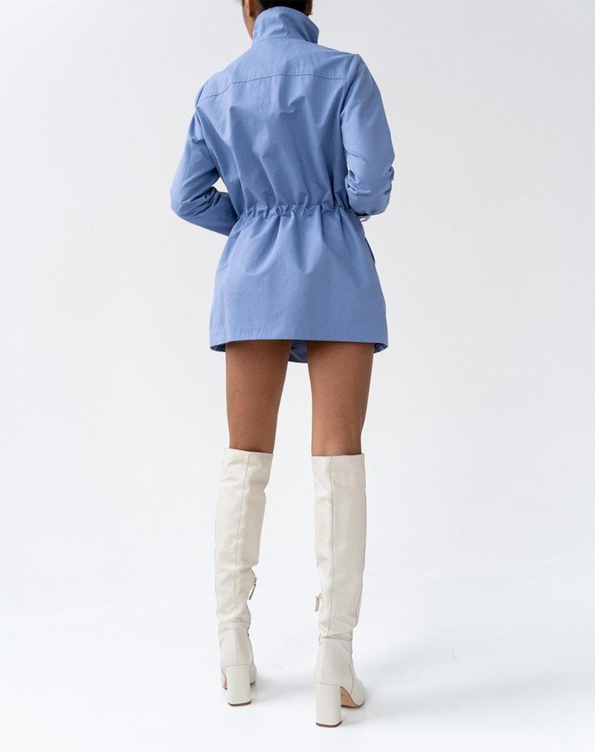Хлопковая куртка-парка Lora на подкладке MC_MY0621, фото 1 - в интернет магазине KAPSULA