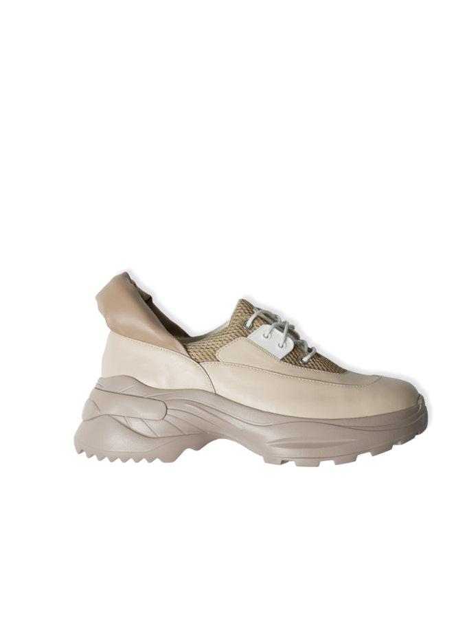 Кроссовки из кожи CLS_CSS21BGS, фото 1 - в интернет магазине KAPSULA