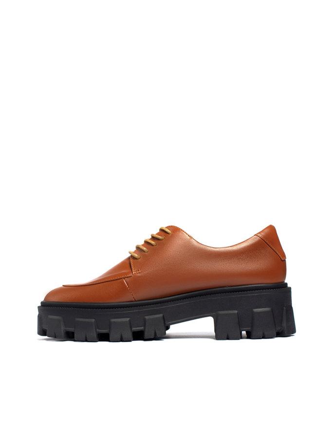 Кожаные ботинки Gaya LA_GAYA, фото 1 - в интернет магазине KAPSULA