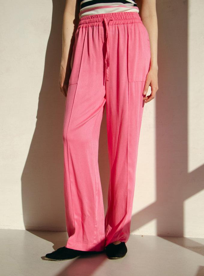 Широкие брюки с нашивными карманами NM_444, фото 1 - в интернет магазине KAPSULA