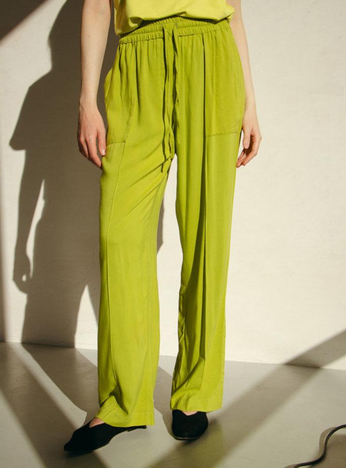 Широкие брюки с нашивными карманами NM_445, фото 1 - в интернет магазине KAPSULA
