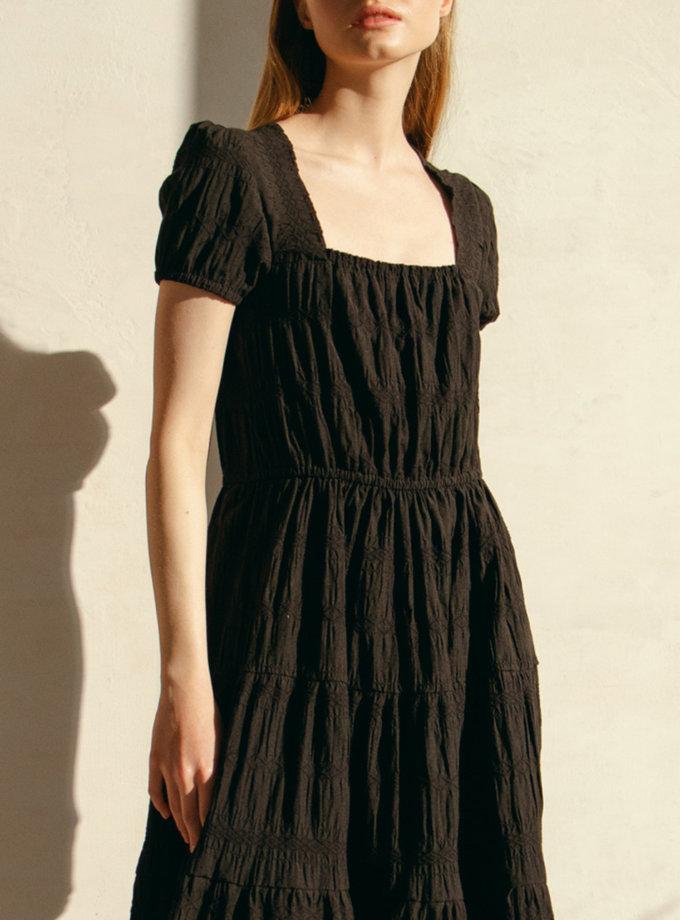 Платье миди NM_446, фото 1 - в интернет магазине KAPSULA