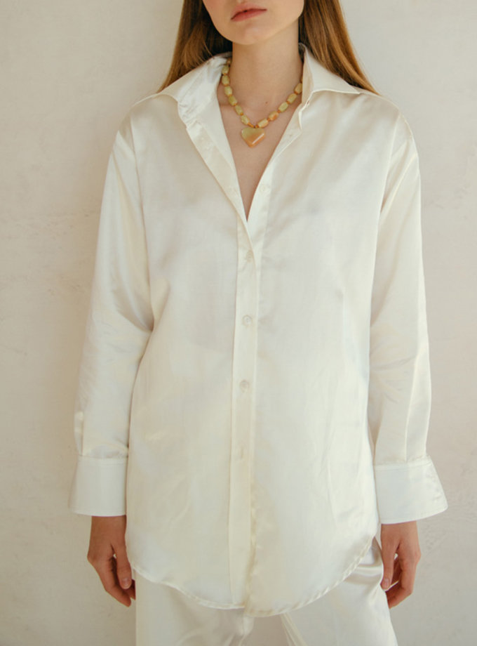 Блуза прямого кроя NM_453, фото 1 - в интернет магазине KAPSULA