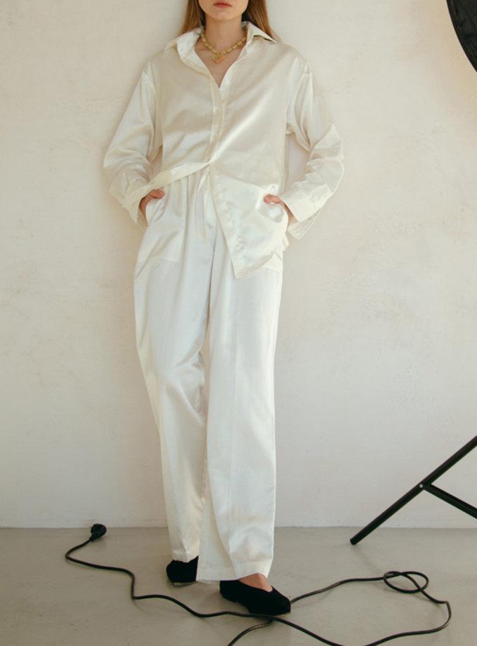 Широкие брюки с нашивными карманами NM_454, фото 1 - в интернет магазине KAPSULA