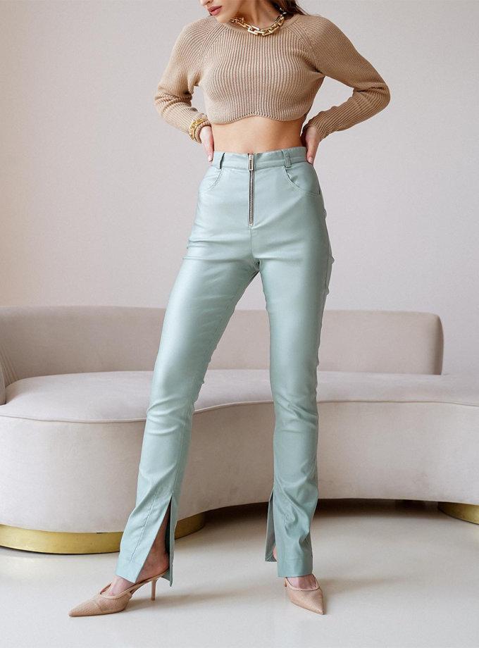 Хлопковые брюки Kim MC_MY6221-1, фото 1 - в интернет магазине KAPSULA