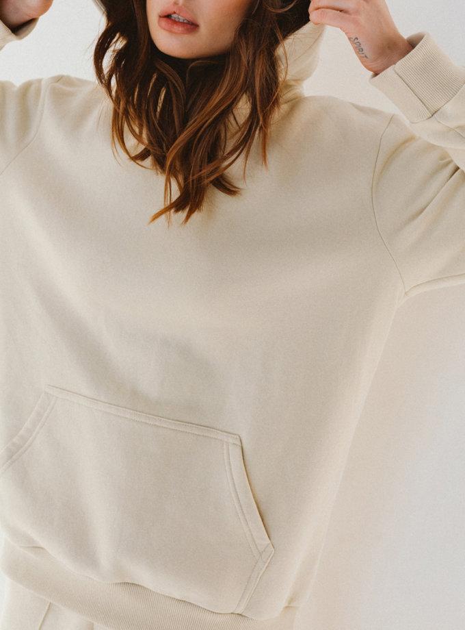 Утеплённый худи из хлопка BLCGR_BLCN_777, фото 1 - в интернет магазине KAPSULA