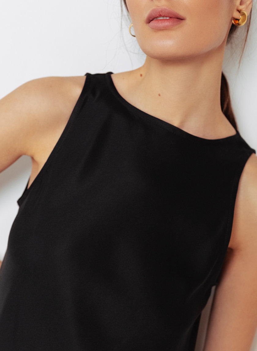Платье из тенсела BLCGR_BLCN_796, фото 1 - в интернет магазине KAPSULA