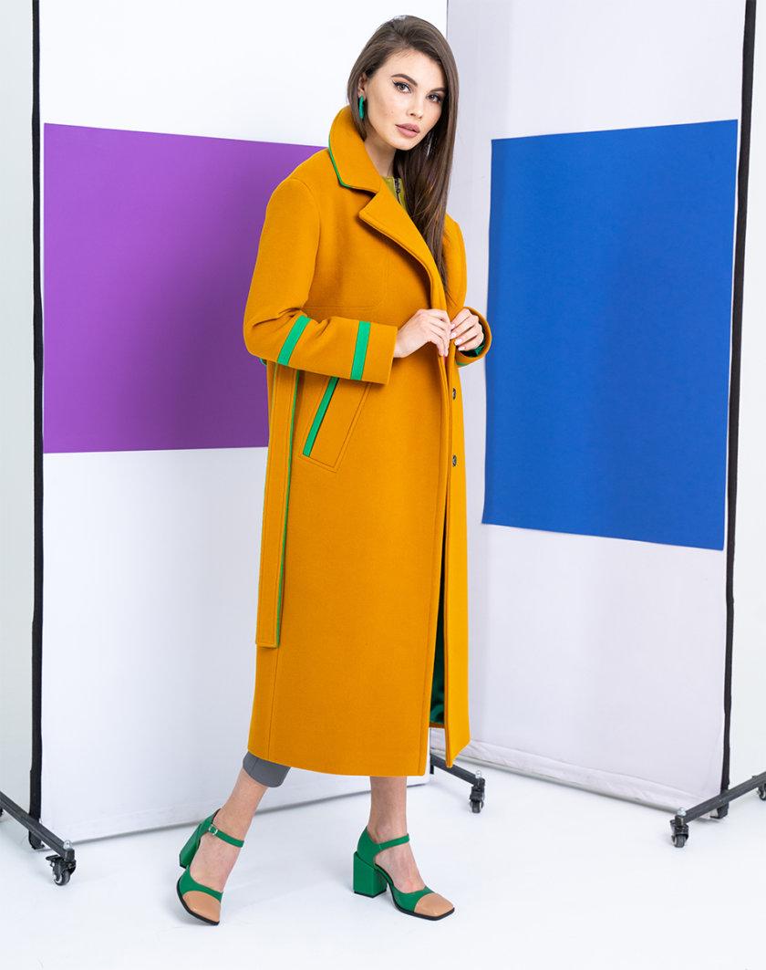 Пальто из шерсти прямого кроя TBC_S_S21_004w, фото 1 - в интернет магазине KAPSULA