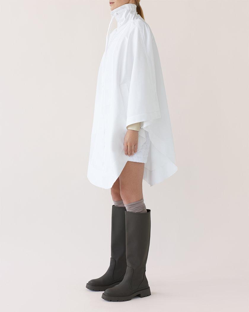 Ветровка-кейп с объемными карманами MRCH_Ekl08W, фото 1 - в интернет магазине KAPSULA