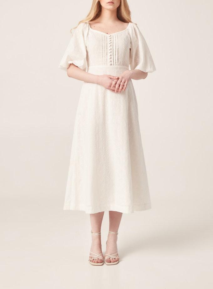 Хлопковое платье на подкладе BETH_BD_SS21_1, фото 1 - в интернет магазине KAPSULA
