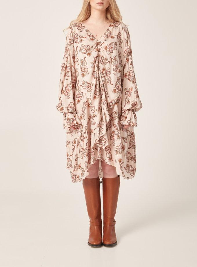 Легкое платье oversize BETH_BD_SS21_4, фото 1 - в интернет магазине KAPSULA