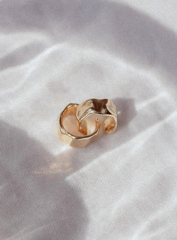 Кафф из желтого золота RAJ_E-002kf, фото 1 - в интернет магазине KAPSULA