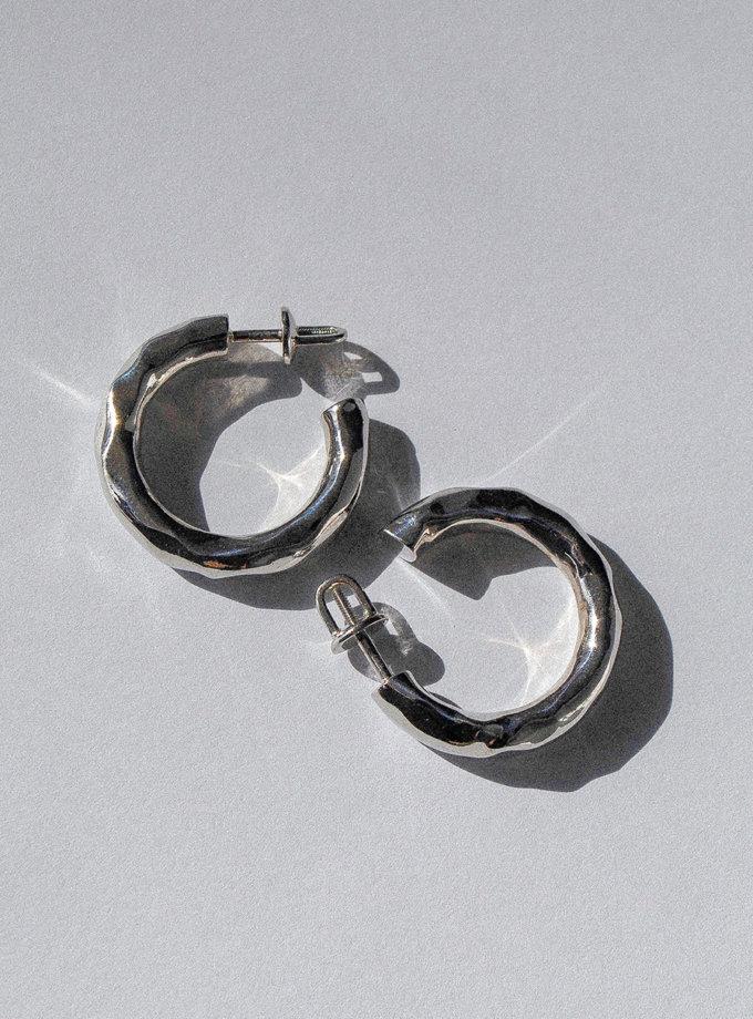 Серьги из серебра RAJ_E-009, фото 1 - в интернет магазине KAPSULA