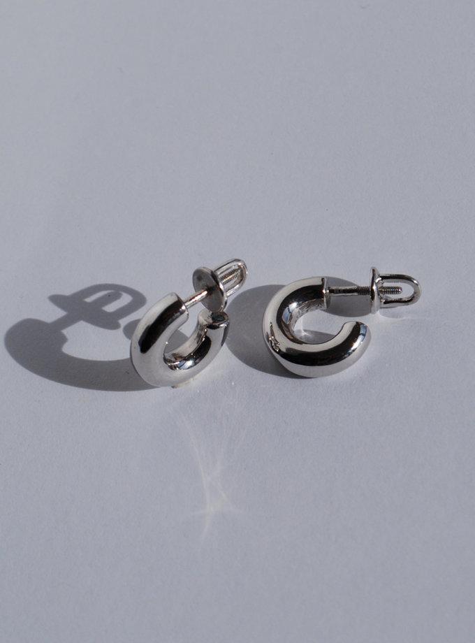 Серьги из серебра RAJ_E-7944, фото 1 - в интернет магазине KAPSULA