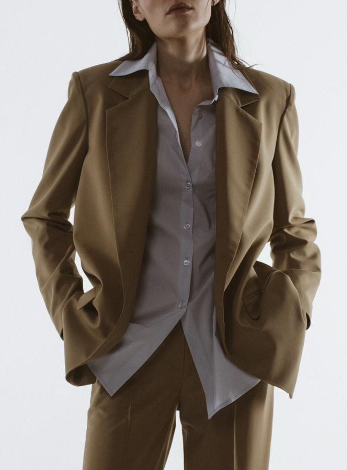 Жакет из шерсти IRRO_IR_SS21_BJ_004, фото 1 - в интернет магазине KAPSULA
