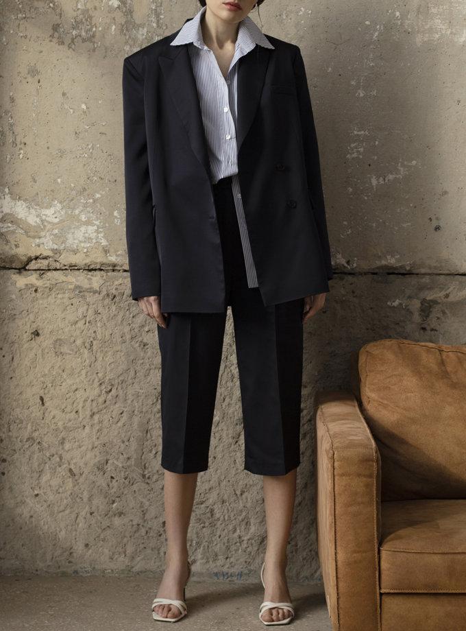 Укороченные брюки на высокой посадке IRRO_IR_SS21_PB_002, фото 1 - в интернет магазине KAPSULA