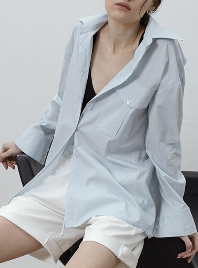Сорочка з бавовни IRRO_IR_SS21_SB_009, фото 1 - в интернет магазине KAPSULA