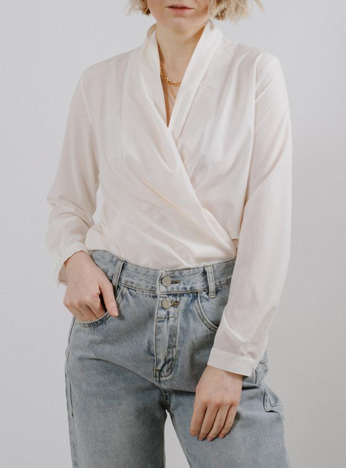 Блуза с запахом MNTK_MTS2111, фото 1 - в интернет магазине KAPSULA