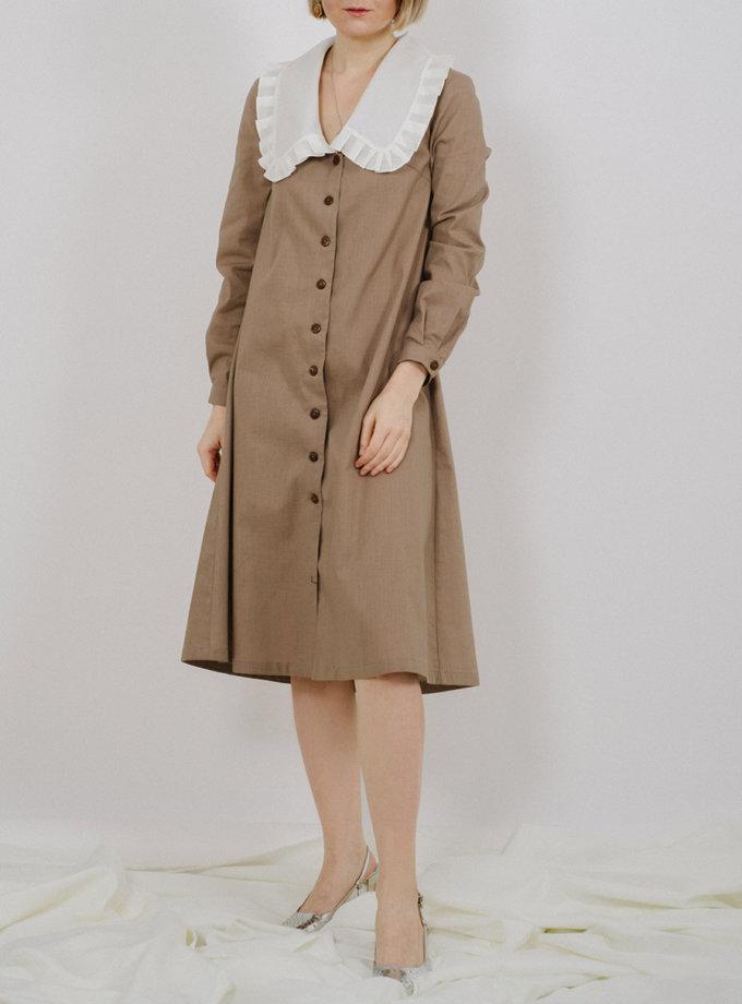 Платье с отложным воротником MNTK_MTS2118, фото 1 - в интернет магазине KAPSULA