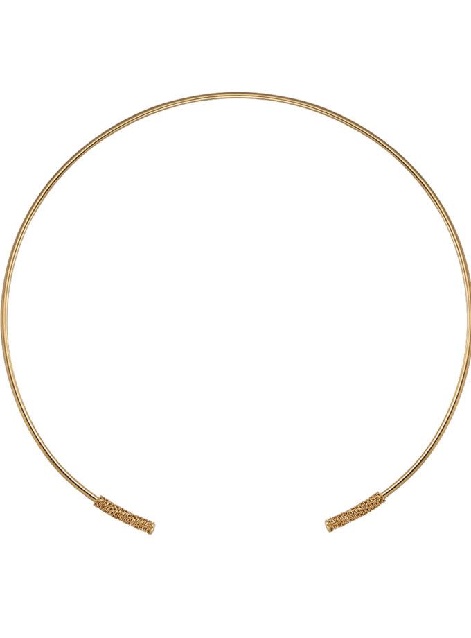 Чокер из желтого золота RAJ_NRA-011, фото 1 - в интернет магазине KAPSULA