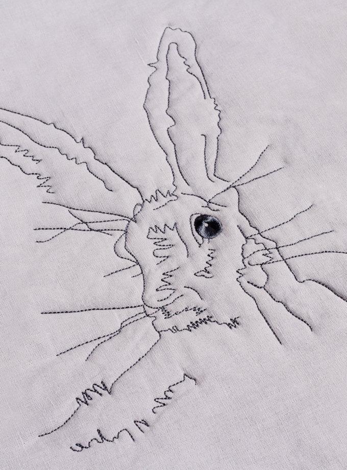 Льняное покрывало Bunny SOFT_P180524_1P_SL, фото 1 - в интернет магазине KAPSULA